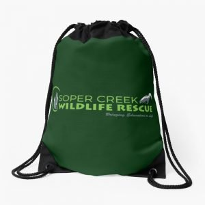 SCWR Logo Drawstring Backpack