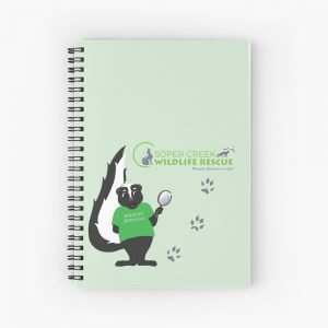 SCWR Wildlife Detective Spiral Notebook